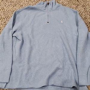 Ralph Lauren Polo Quarter Zip Sweater Blue XL